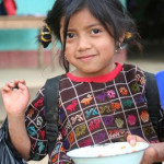 A young Guatemalan girl